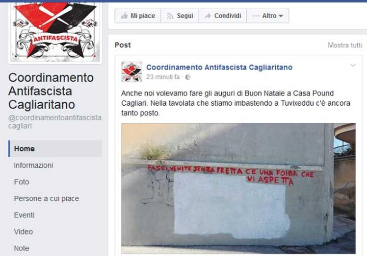 SALUSIO, Dalla scuola occupata un post sulla strage di Acca Larentia per alzare il livello dello scontro