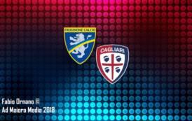 CALCIO, Frosinone-Cagliari 1-1. Approccio negativo, risveglio Farias