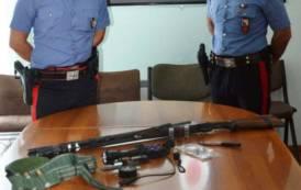 QUARTUCCIU, Scoperti con un fucile e materiale per la caccia di frodo: arrestati due uomini di Selargius e Sinnai