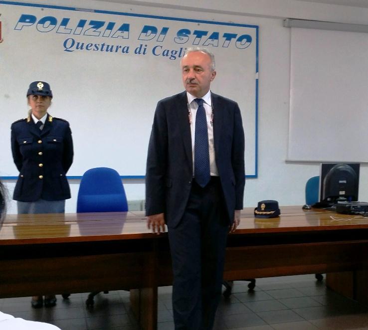 """CAGLIARI, In Città il nuovo questore, Danilo Gagliardi: """"La Questura sia un palazzo di cristallo, il cittadino deve essere informato"""""""