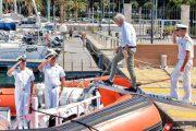VILLASIMIUS, Ministro dell'ambiente Galletti visita l'Area Marina Protetta