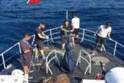 LA MADDALENA, Sequestrati 600 metri di reti da pesca abusivamente posizionate all'interno del Parco
