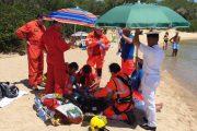 CANNIGIONE, Bagnante di 77 anni colto da malore, intervengono Guardia Costiera e 118