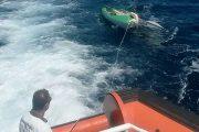 LA MADDALENA, Recuperata coppia di ragazzi su una barca a vela in balia delle correnti