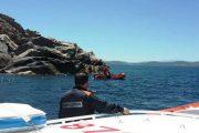 SANTA TERESA GALLURA, Subacqueo romano disperso in mare durante una battuta di pesca