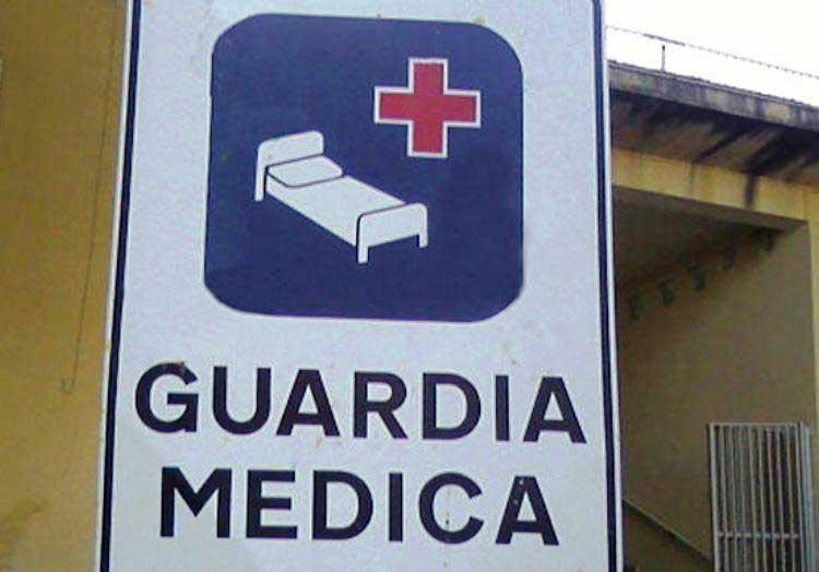 SANITA', Allarme guardie mediche: a rischio la vigilanza negli ambulatori