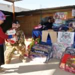 AFGHANISTAN, Brigata Sassari porta solidarietà della Sardegna con materiale per infanzia e sanitario, alimenti e giocattoli