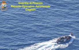 TEULADA, Avvistati 14 clandestini a 52 miglia da Capo Teulada