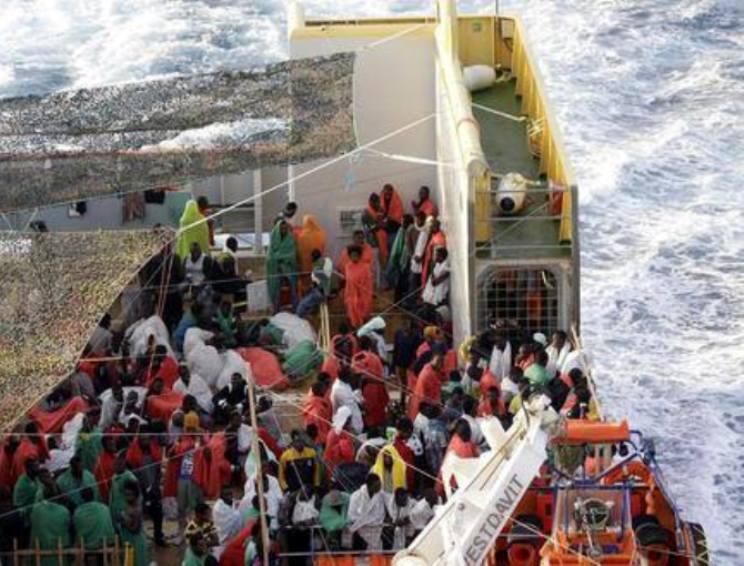 CAGLIARI, Domattina al Porto arrivano altri 781 immigrati: oltre 400 sono nigeriani, solo due i libici  (VIDEO)