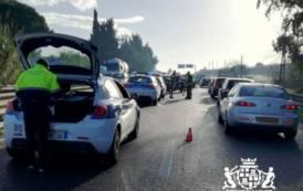 CAGLIARI, Incidente stradale con otto veicoli nella 131 Dir: 4 feriti