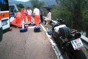 ILBONO, Perde il controllo della moto in curva: morto un turista austriaco