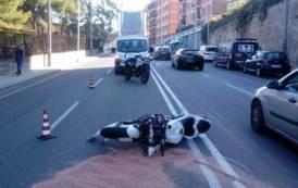 CAGLIARI, Scontro tra autocarro e moto: 27enne motociclista di Sorgono ricoverato al Brotzu