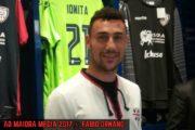"""CALCIO, Ionita: """"Sto bene a Cagliari. La maglia dello scudetto? Onore e responsabilità"""""""