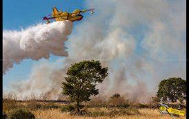 Incendio di Isili: il reportage fotografico di Gian Luca Onnis