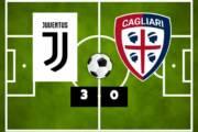 CALCIO, Juventus-Cagliari 3-0: debutto amaro