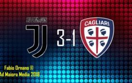 CALCIO, Sconfitta a testa altissima: Juventus-Cagliari 3-1