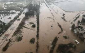 CAPOTERRA, Le IMMAGINI dell'alluvione della Strada Statale 195