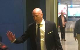 CALCIO, L'arrivo del nuovo allenatore del Cagliari Maran