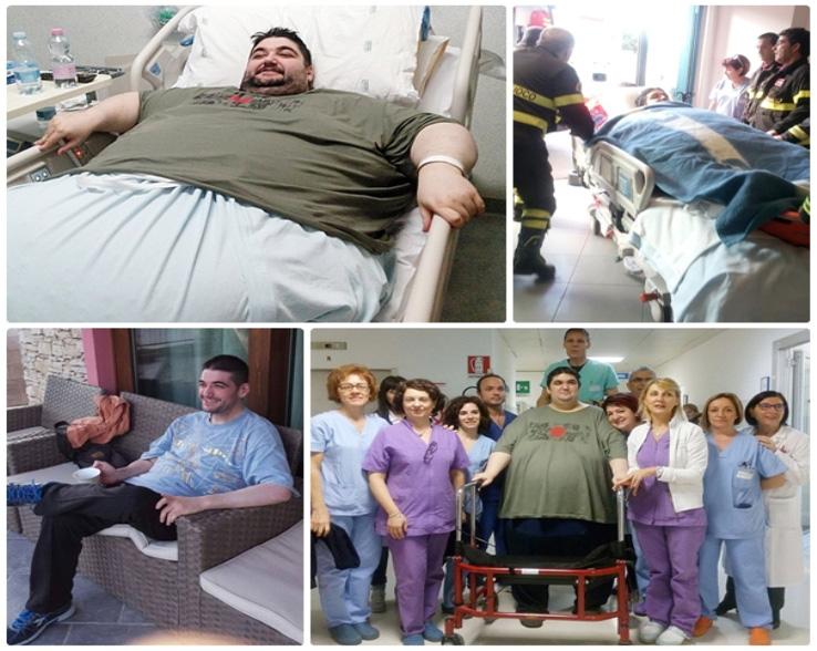 CAGLIARI, L'obesita' si può combattere. La storia di Mauro: da 300 chili ad una vita completamente nuova
