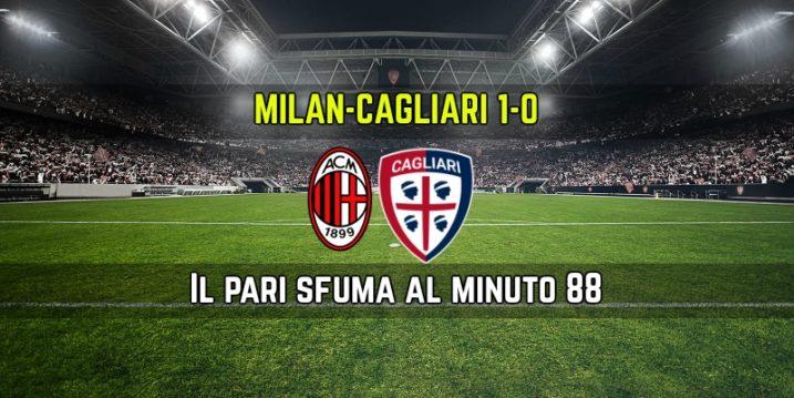 Milan-Cagliari, Montella: