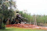 QUARTU SANT'ELENA, Le IMMAGINI della Torre di avvistamento per fenicotteri bruciata a Molentargius