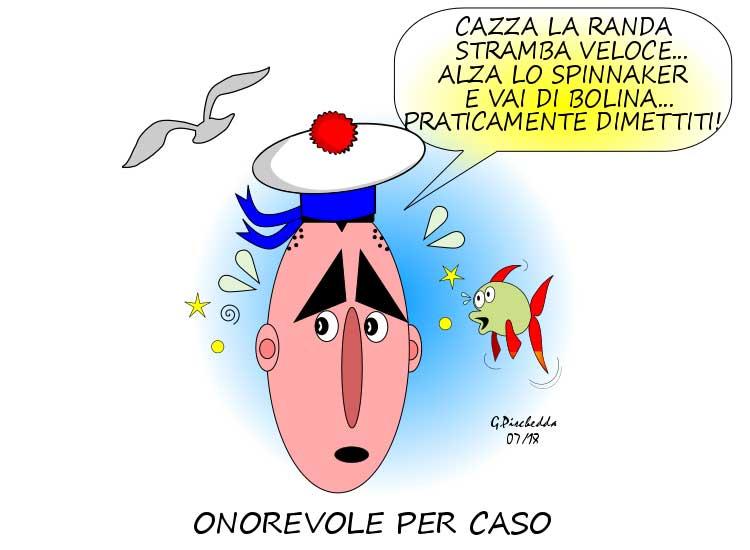 MIRABILIA, L'onorevole 'per caso' Mura fa 'vela' a Montecitorio