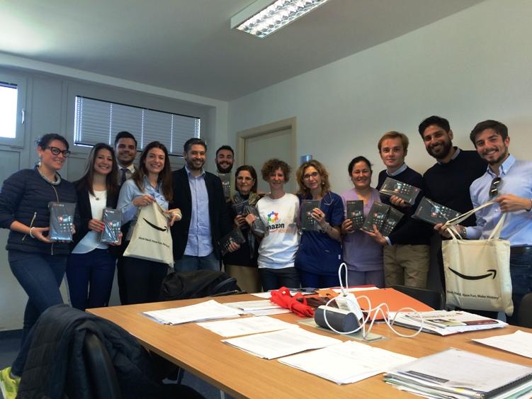 SANITA', Su iniziativa del Rotaract, Amazon dona 16 tablet al reparto di ematologia dell'Oncologico di Cagliari