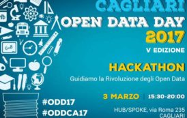 CAGLIARI, Cagliari open data day 2017: dal 3 marzo tre giornate all'insegna della cultura dei dati aperti