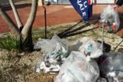 QUARTU SANT'ELENA, Assente Amministrazione Delunas, a ripulire piazza del Parco Europa ci pensa Gioventù Nazionale