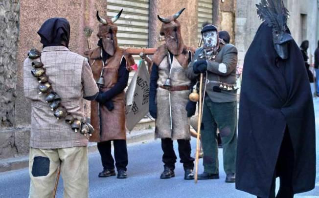 TRADIZIONI, Le maschere del Carnevale sestese sbarcano a Civitavecchia