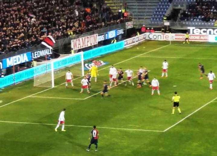 CALCIO, Il Cagliari non sa più vincere: al Sant'Elia passa anche il Perugia (0-2)