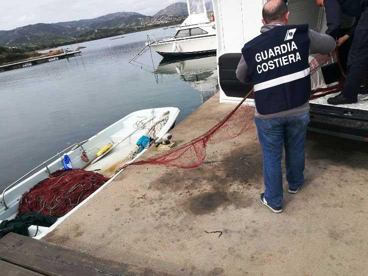 OLBIA, Controlli nell'Area Marina di Tavolara: sanzionati pescatore e ricciaio