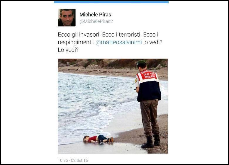 MEDUSA, L'uso di un'immagine terribile per la polemica politica è oltraggioso e impietoso