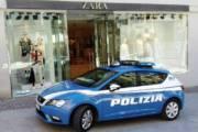 CAGLIARI, Ruba abbigliamento da Zara: arrestato 29enne gambiano