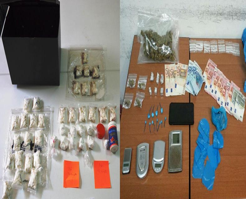 CAGLIARI, Arrestati due spacciatori di sostanze stupefacenti: uno a Pirri ed un minore a Mulinu Becciu