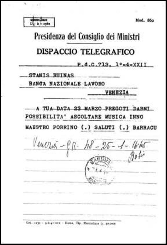 """A Tharros l'opera """"I Shardana"""", ma resiste la 'damnatio memoriae' per il musicista Ennio Porrino (Angelo Abis)"""