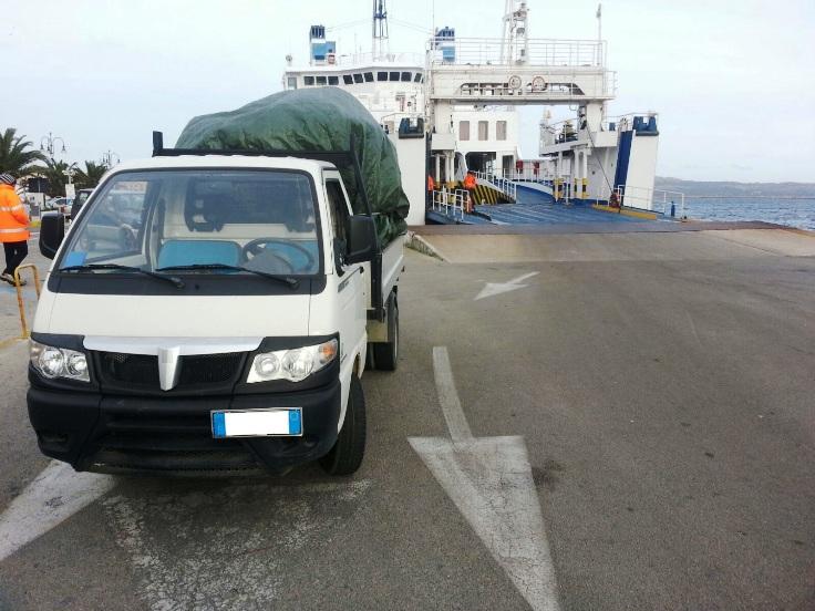 LA MADDALENA, Sanzionato un autotrasportatore per imbarco abusivo di merci pericolose