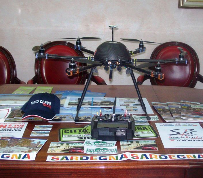 ARZACHENA, Con un drone la Porto Cervo Racing promuove e valorizza il patrimonio archeologico del territorio (VIDEO)
