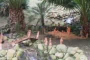 CAGLIARI, Presepe all'Orto Botanico realizzato dai tecnici e dai giardinieri dell'Università