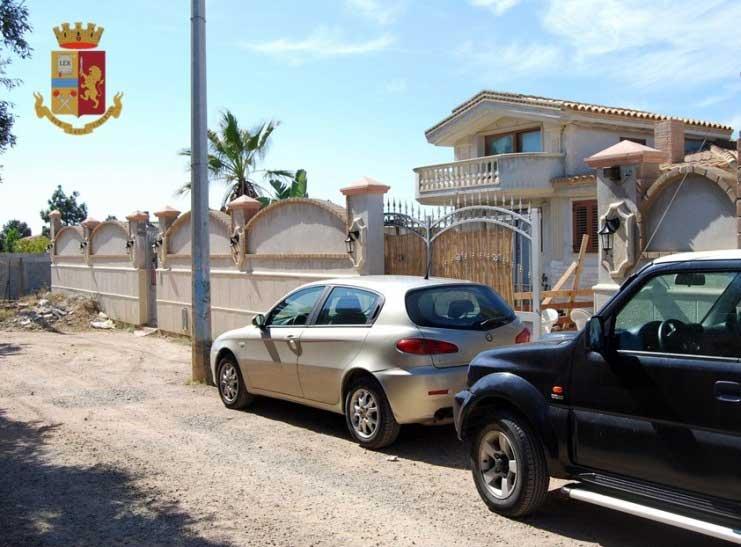 QUARTU SANT'ELENA, Confiscata a pregiudicato una villa abusiva con piscina in un terreno di 1.000 metri quadri