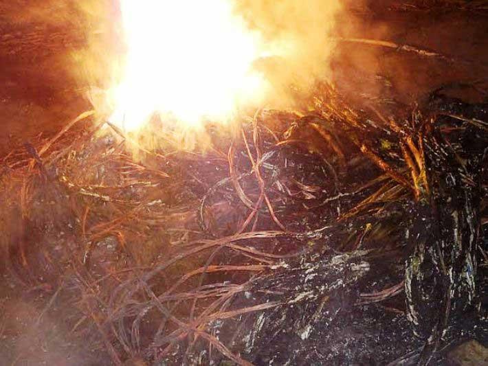 SELARGIUS, Denunciati quattro nomadi scoperti mentre bruciavano materiale elettrico