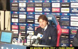 """CALCIO, Rastelli dopo Cagliari-Bologna: """"Avremmo meritato la vittoria. Ragazzi encomiabili, oggi rosa ridotta all'osso"""""""