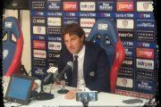 """CALCIO, Le parole del tecnico rossoblu Rastelli dopo Torino-Cagliari: """"Non è possibile continuare con prestazioni simili"""""""