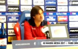 """CALCIO, Rastelli: """"Mi vedo allenatore del Cagliari nello stadio nuovo. Domani gioca Rafael. E Ibarbo…"""""""