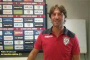 """CALCIO, Rastelli: """"Contro il Genoa partita delicata. Rispetto per gli avversari, ma cercheremo di fare qualche sgambetto"""""""