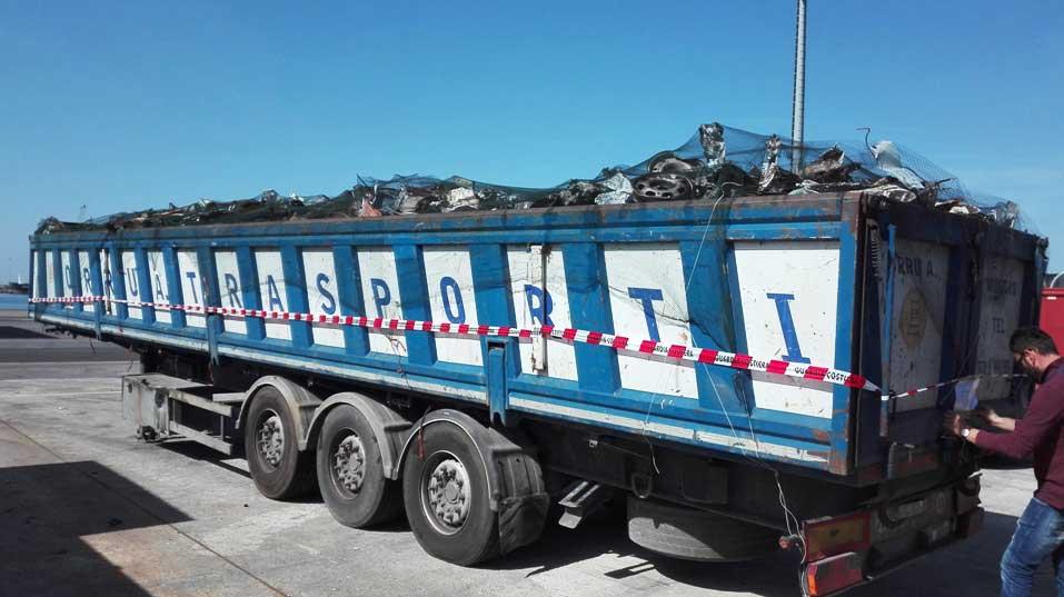 VILLASPECIOSA, Sequestrate in Toscana 30 tonnellate di rifiuti metallici contaminati: provenivano da azienda sarda