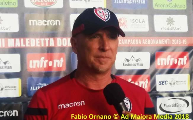 """CALCIO, Maran: """"La macchina Cagliari sta funzionando bene"""""""