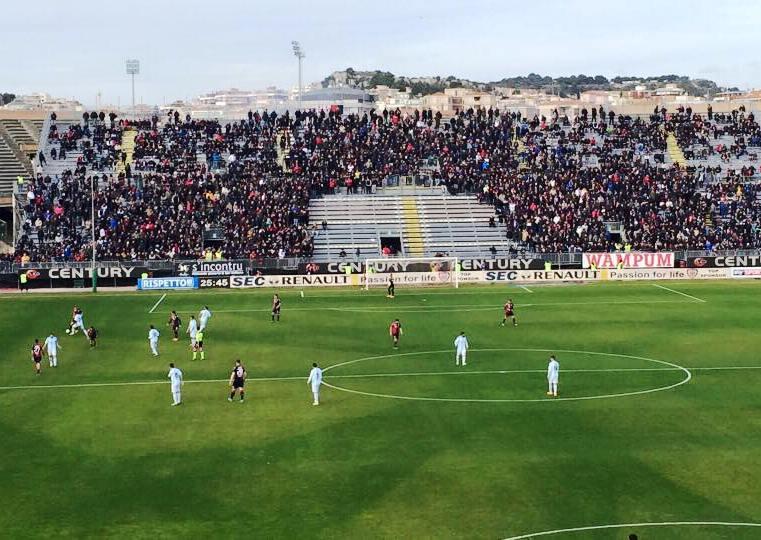 Sabato al Sant'Elia ha perso il calcio… (Matteo Vercelli)