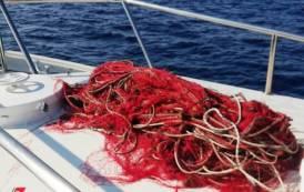 CAGLIARI, Lotta alla pesca illegale: sequestrate reti al Poetto ed a Capo Carbonara, nasse a Foxi (IMMAGINI)