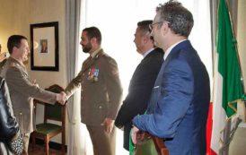 VITTIME DEL TERRORISMO, Medaglia d'oro al Caporale Maggiore della Brigata Sassari Sergio Luisi